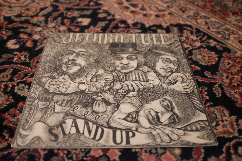 Jethro Tull Stand Up Island Chrysalis The Vinyl Press