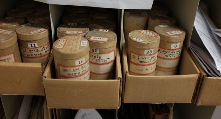 A Visit to the Library of Congress Audiovisual Preservation Facility