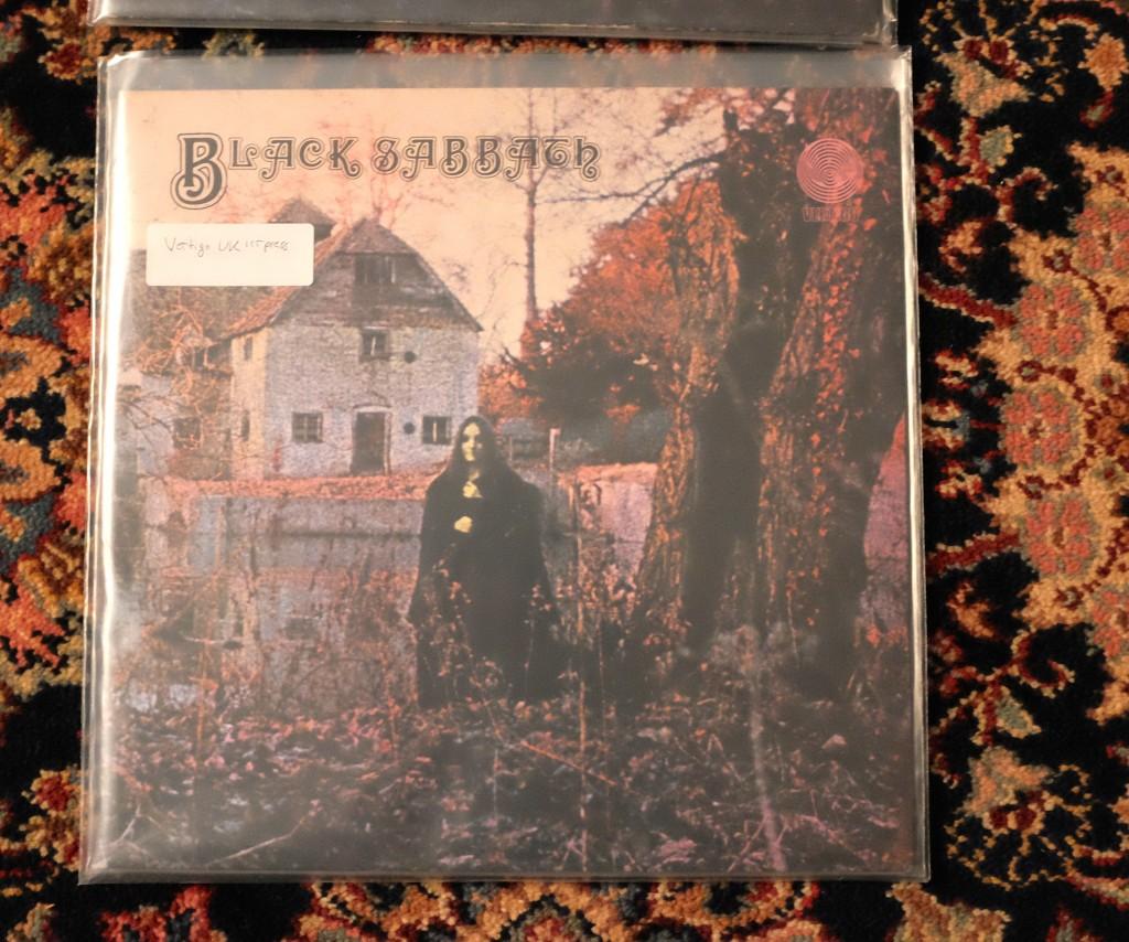 A Sidebar Black Sabbath On Vertigo The Vinyl Press