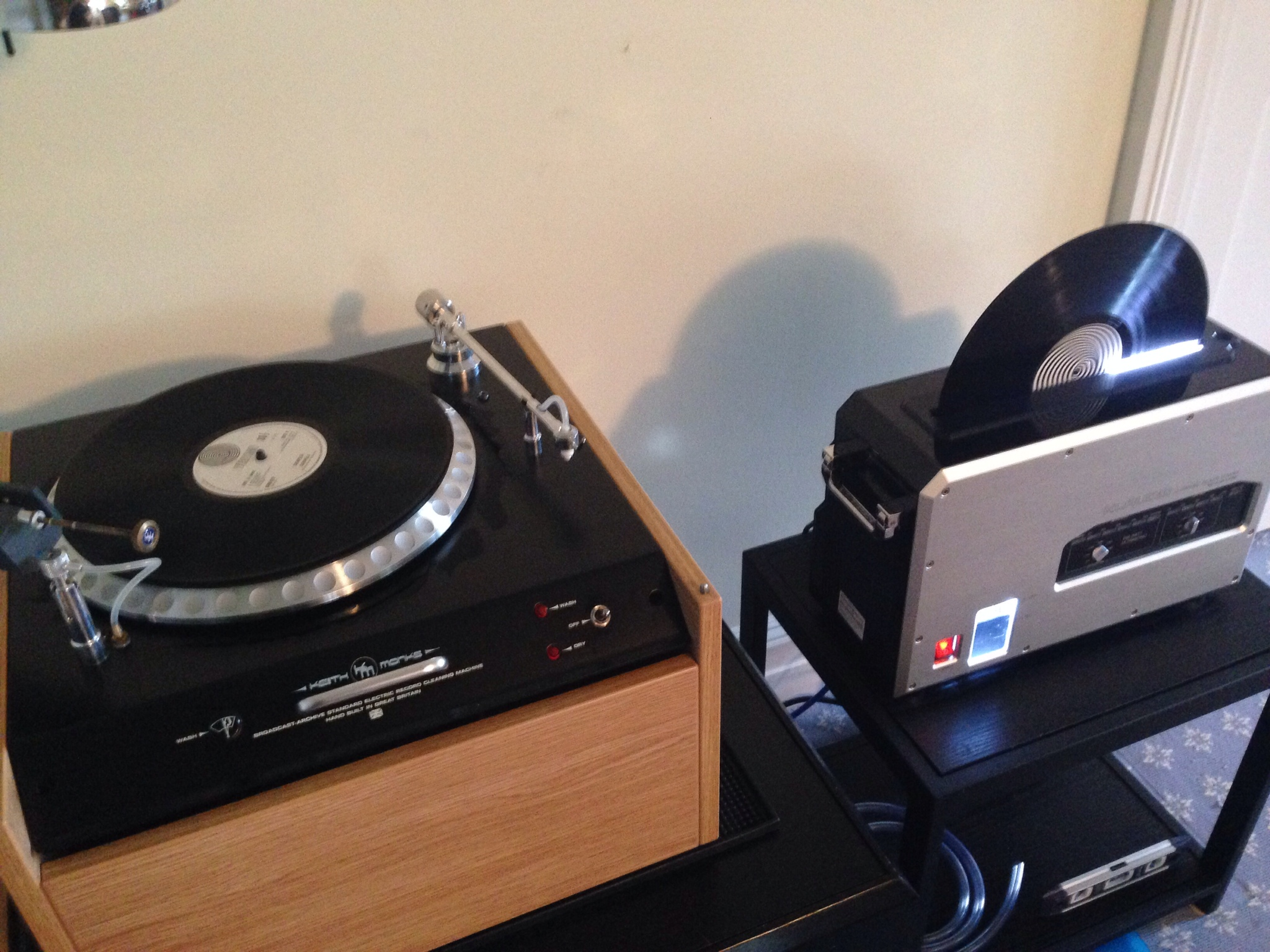 Record Cleaning Vpi Monks Ultrasonic Audio Desk Kl Audio