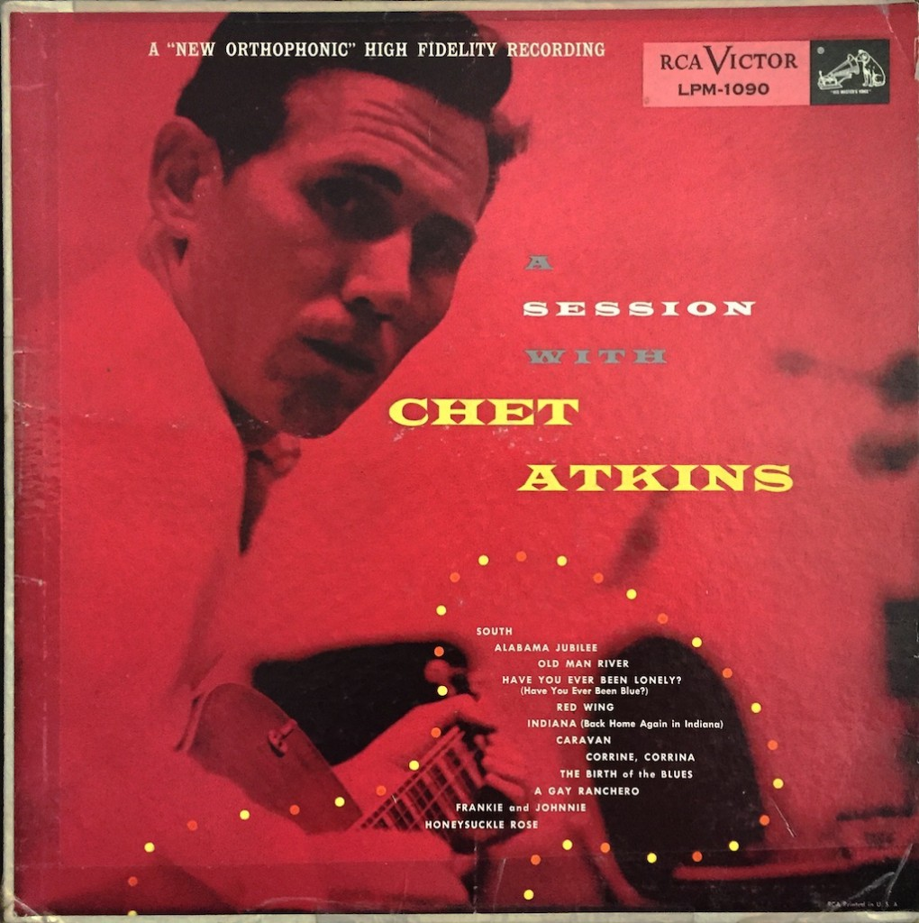 A SESSION W CHET orig LP jacket