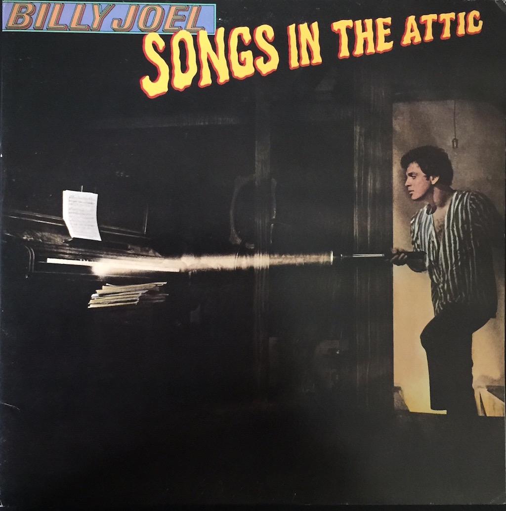 Billy Joel Songs In The Attic The Vinyl Press