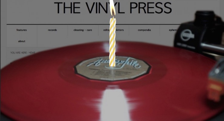 One Year of TheVinylPress