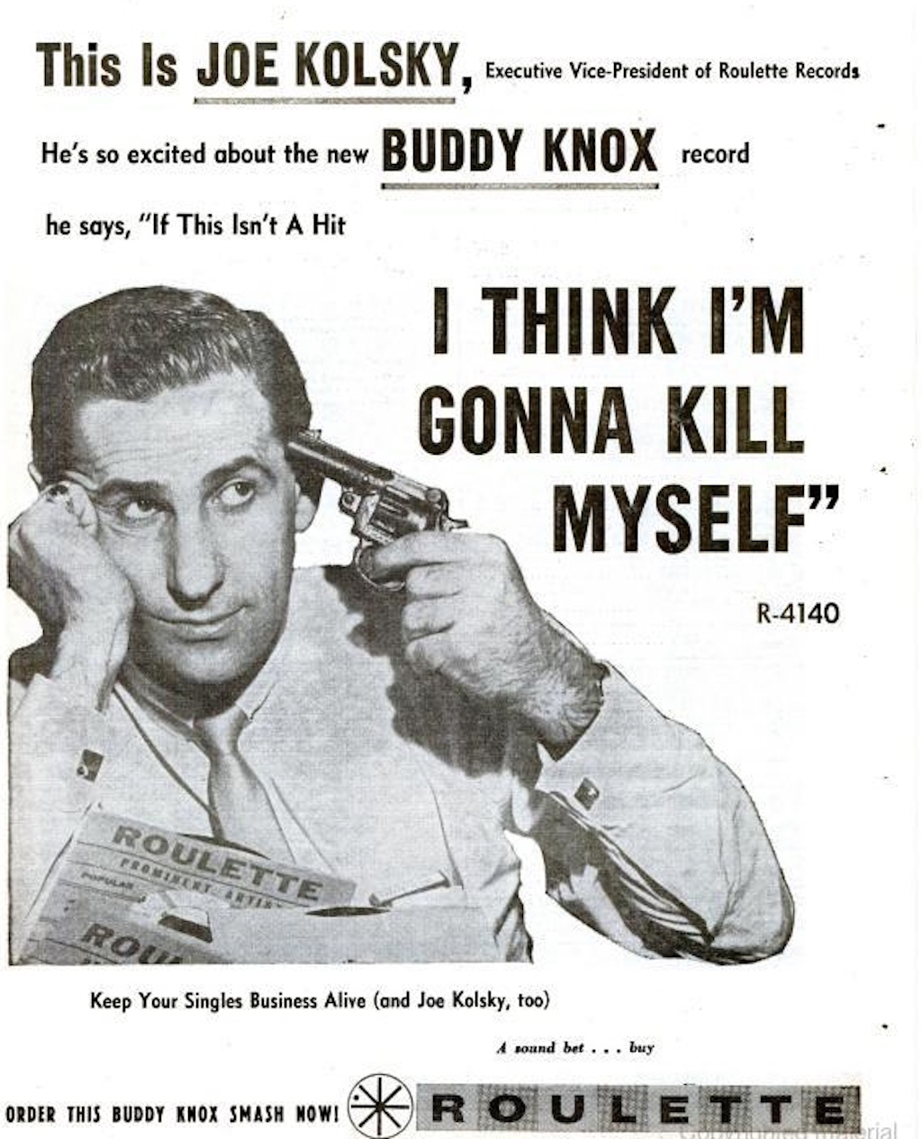 Joe Kolsky--Billboard March 23, 1959