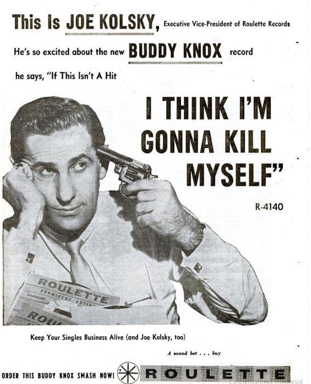 Joe Kolsky--Billboard March 23, 1959