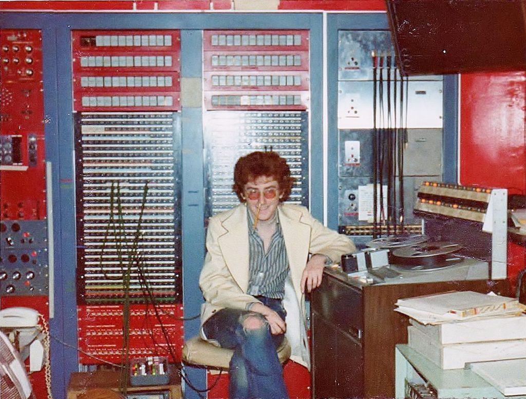 GB at A & R circa 1974