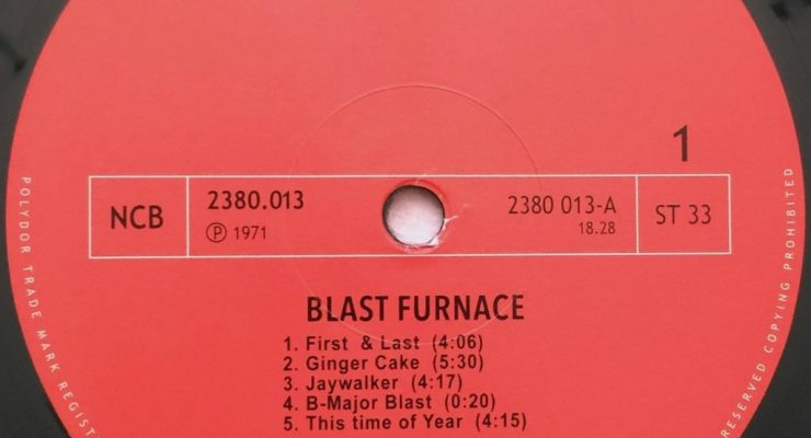 BLAST FURNACE- Self Titled